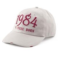 限量版水洗棒球帽 1984