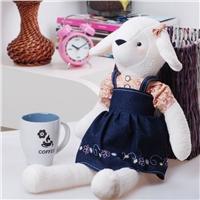 情侣毛绒玩具—羞羊羊
